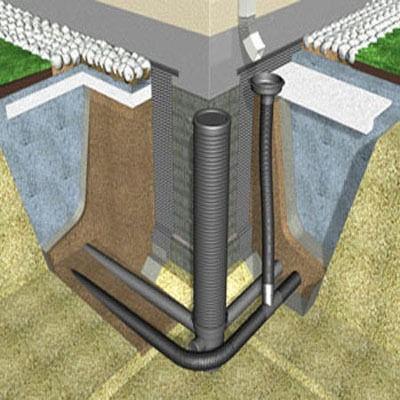 Как отвести воду от конструкции здания?
