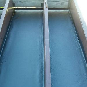Гидроизоляция террасы битумной эластичной мастикой под террасную доску
