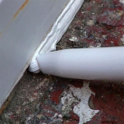 Герметизация сопряжения оконой рамы с фасадом