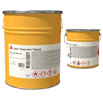 Sika ®  Poxicolor (A+B) RAL 7032